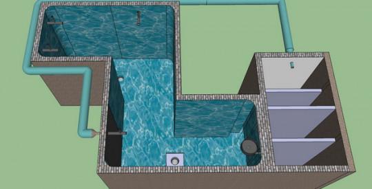 บริการรับออกแบบบ่อปลาคาร์ฟ