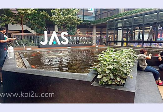 งานเซตระบบกรอง ณ ห้างJAS ศรีนครินทร์