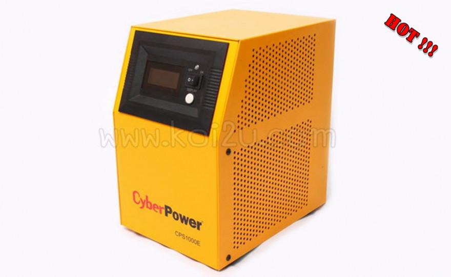 เครื่องสำรองไฟอัตโนมัติ CYBERPOWER รุ่น CPS 1000E