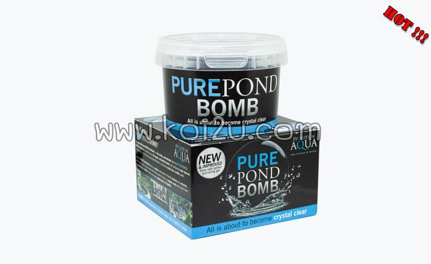 """จุลินทรีย์สด """"Pure pond bomb"""""""