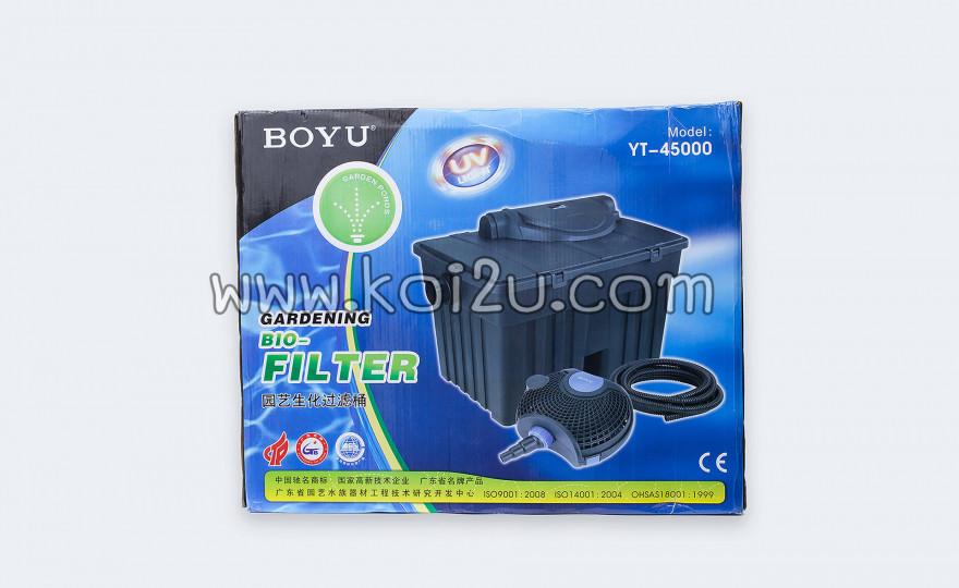 ถังกรองสำหรับบ่อปลาคาร์ฟ BOYU 45000 ลิตร